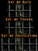 Uber Key Set - 1 Key of Terror, Hate, Destruction